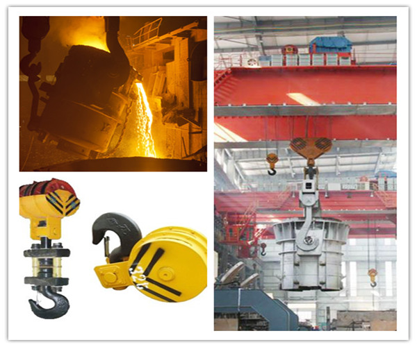 Ellsen low price overhead crane with hook for sale