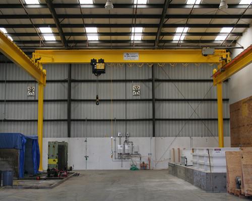 Ellsen warehosue European single girder overhead crane for sale