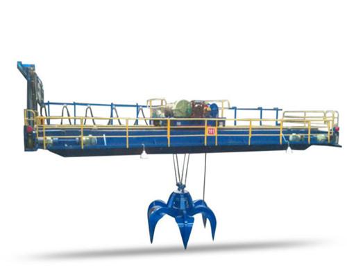 Ellsen warehouse grab double beam overhead crane for sale