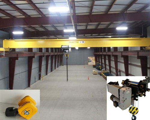 HD warehouse single beam overhead crane for sale