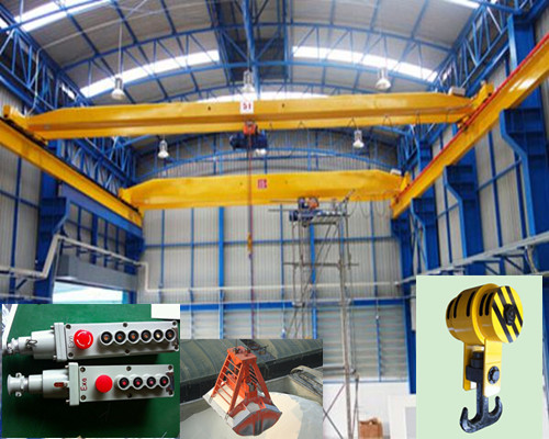 LB warehouse single girder hanging overhead crane for sale