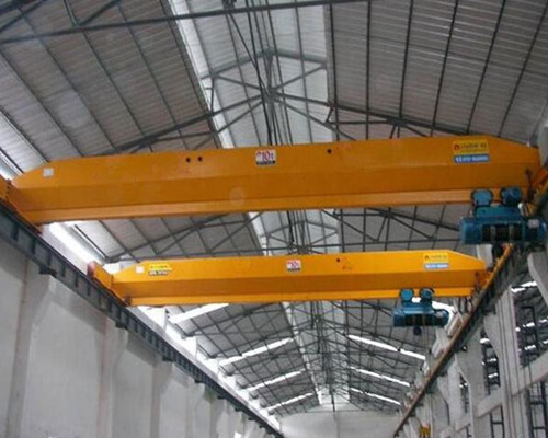 LD top running warehouse single girder bridge crane for sale