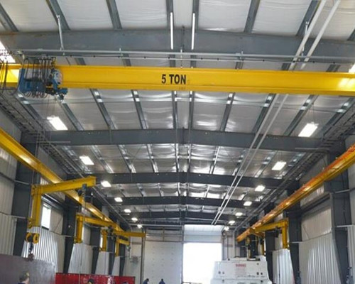 LD warehouse electric single girder overhead crane for sale