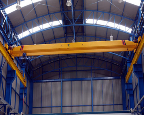 LD warehouse single girder hanging bridge crane for sale