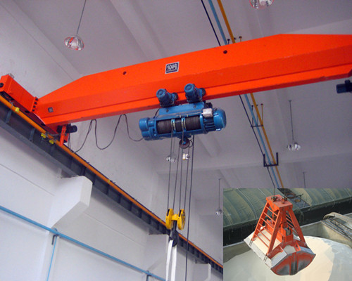 LDY warehouse single beam overhead crane for sale