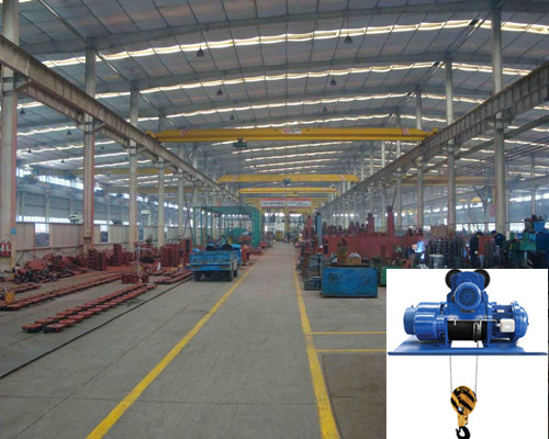 Low price LDY warehouse single girder overhead crane for sale