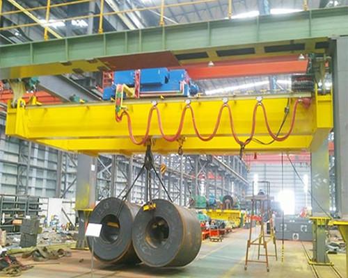 NLH warehouse European double beam overhead crane for sale