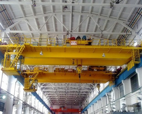 Double Girder 100 Ton Overhead Bridge Crane for Sale
