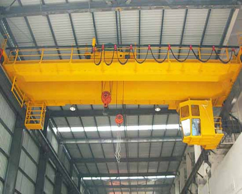 QD 15 ton warehouse European double girder bridge crane for sale