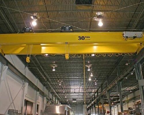 QD 30 ton warehouse European double girder overhead crane for sale