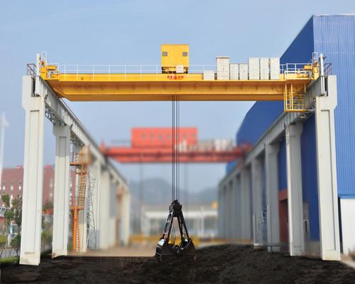 QZ double beam bridge crane 100 ton for coal lifting