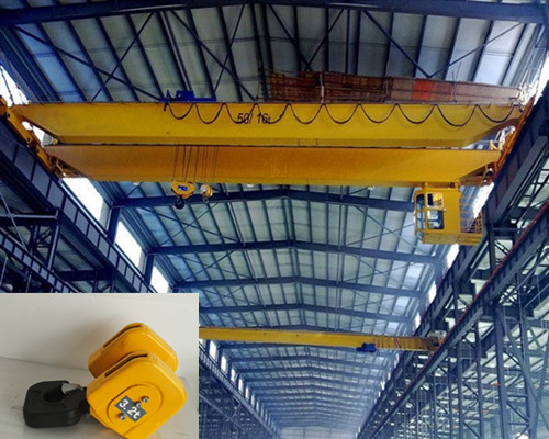 Warehouse Hook Double Girder Overhead Crane