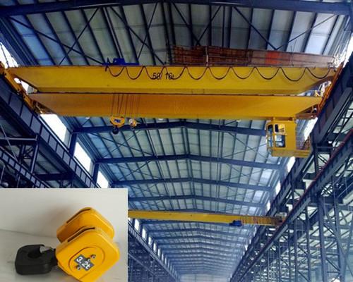 Warehouse hook double girder overhead crane for sale