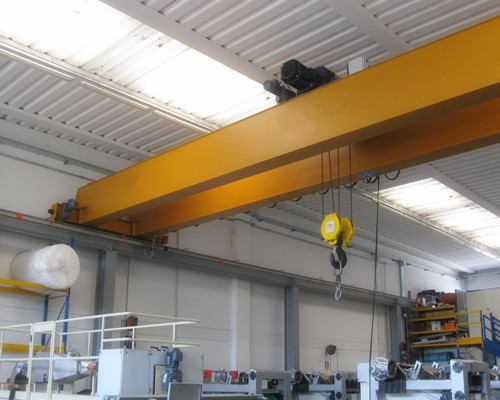 LH type double girder overhead shop cranes for sale