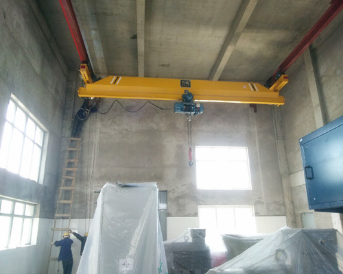 LX suspension single girder overhead shop crane 5 ton for sale