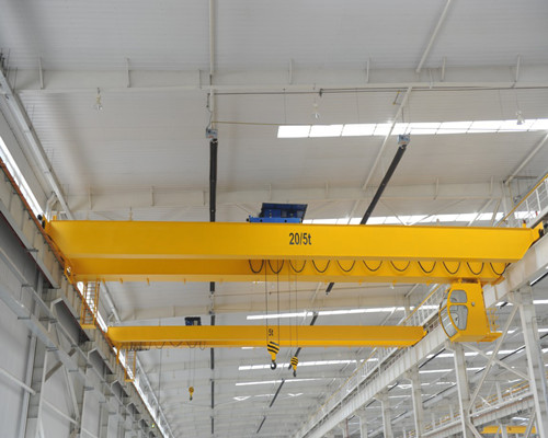 NLH type European type double girder workshop electric overhead travelling crane for sale