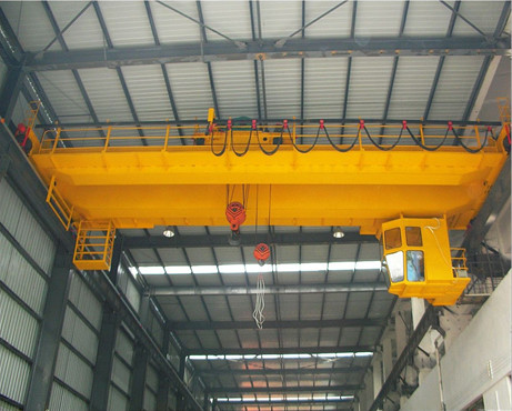 QD common type workshop double beam overhead crane for sale