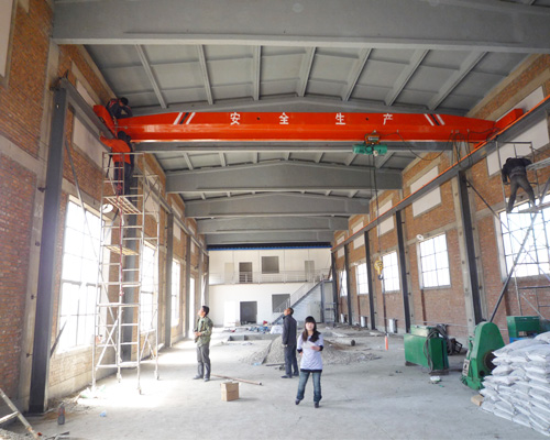 AQ-LD Type Single Girder Overhead Crane For Sale