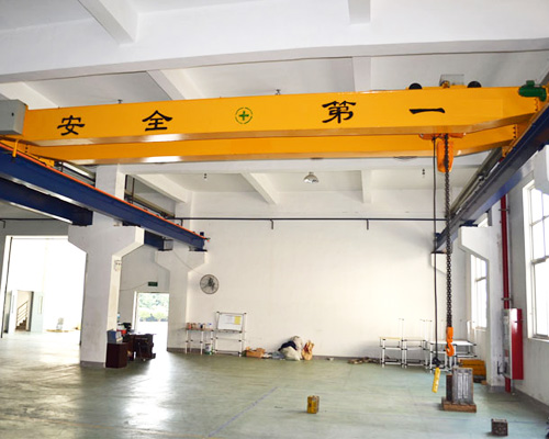 AQ-LH Electric Hoist Double Girder Overhead Crane