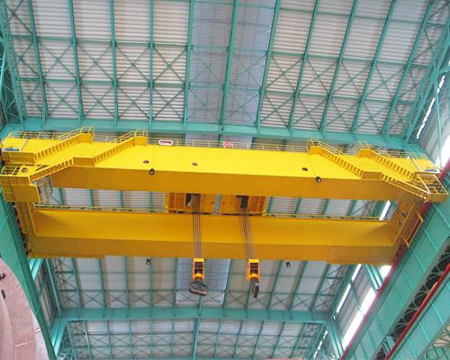 Double Trolley Overhead Crane 40 Ton