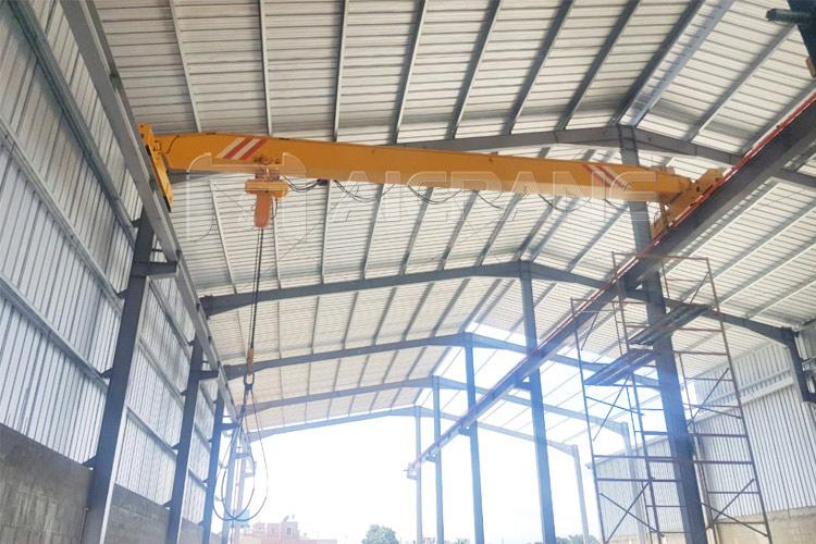 LD 5 Ton Overhead Crane With Chain Hoist