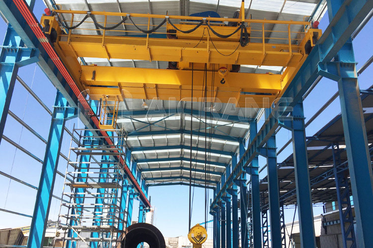 Double Girder Overhead Crane for Chile Client