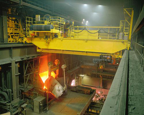 Foundry Heavy Duty Overhead Crane for Sale