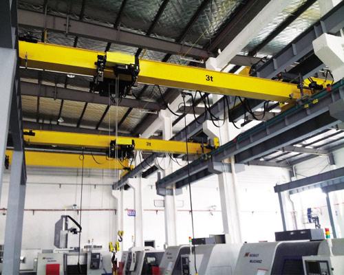 European Standard 3 Ton Overhead Bridge Crane