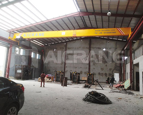 HD European Type Single Girder Bridge Crane Cost