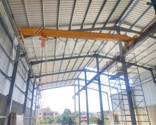 LD Single Girder 5 Ton Bridge Crane