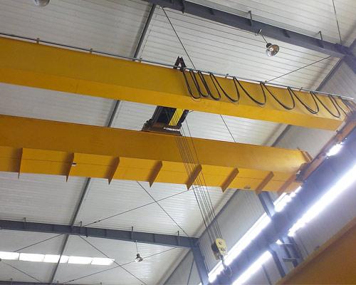 European Type Double Girder Overhead Crane for Sale