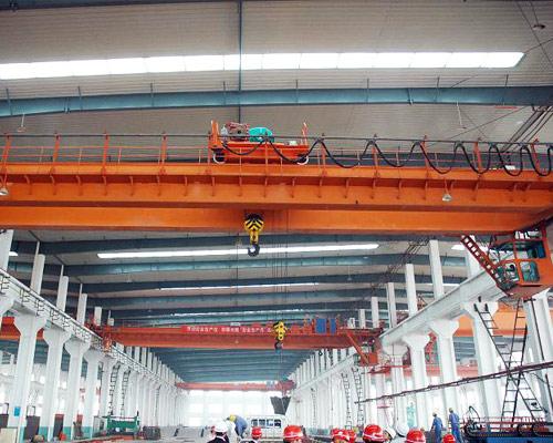QD 20T Double Girder Overhead Crane for Sale
