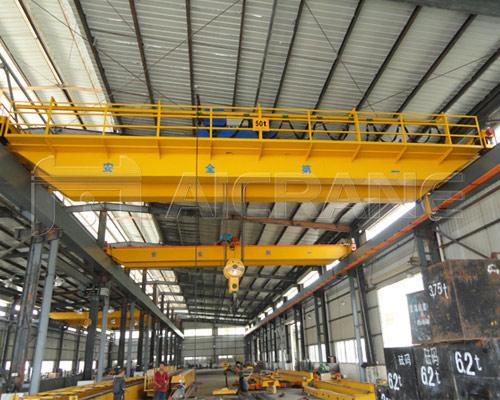 AQ-LH Electric Hoist Double Girder Overhead Crane