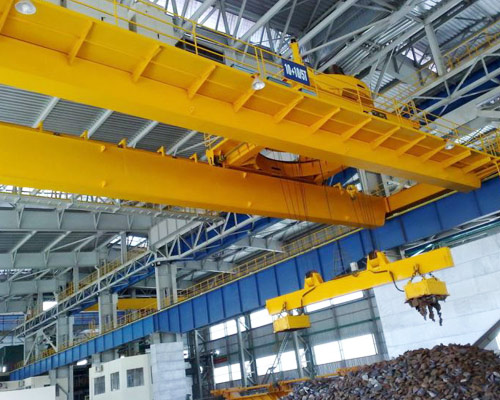 QC Magnetic Overhead Crane Supplier