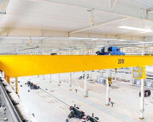 European Type Double Girder Overhead Crane Supplier