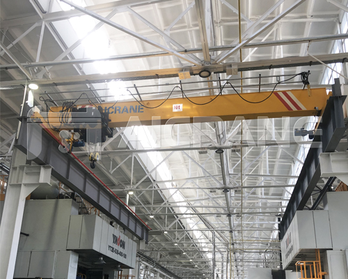 Warehosue European Single Girder Overhead Crane for Sale