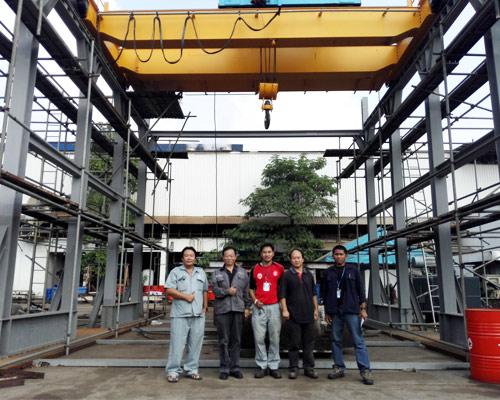 Double Girder Overhead Crane Installation