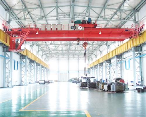 Double Girder Electric Overhead Traveling Crane Supplier