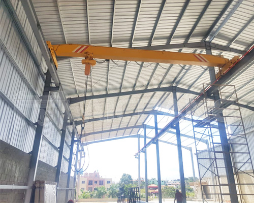 Single Girder Electric Overhead Travelling Crane for Sale