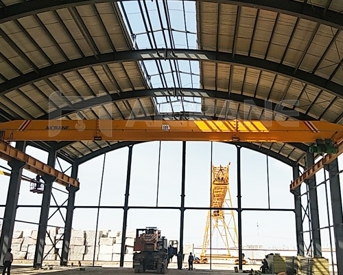 Single Girder Overhead Crane With Hook