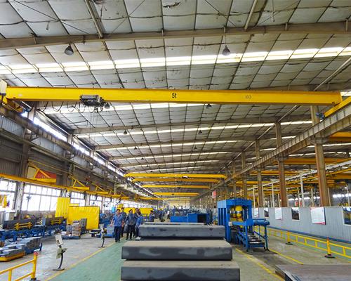 AQ-HD Single Girder EOT Crane Manufacturer