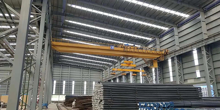 Magnetic Overhead Crane With Carrier-beam Supplier