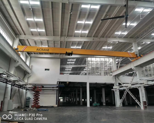European Standard Electric Hoist Overhead Crane for Sale
