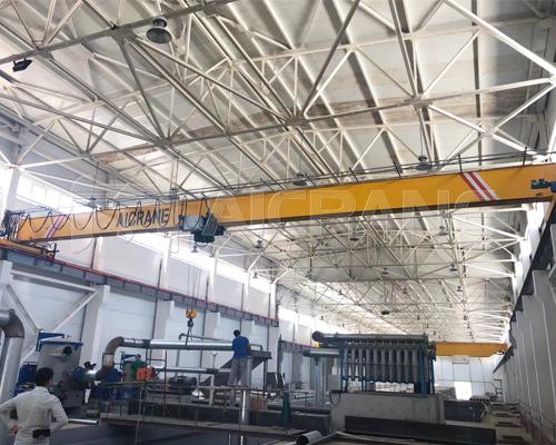 European Single Girder Overhead Crane With Hook For Sale