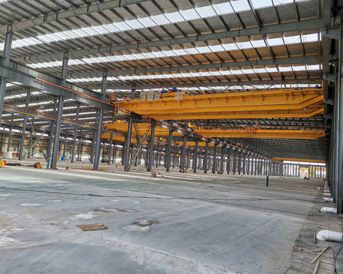 AQ-QD Double Girder Heavy Duty Overhead Crane for Sale