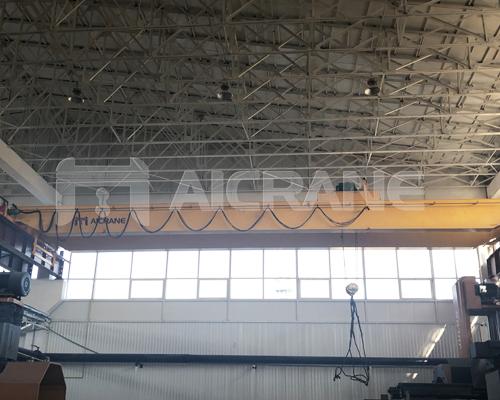 AQ-LH Electric Hoist Double Girder Overhead Crane for Sale